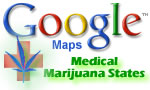 Google Medical Marijuana States Map