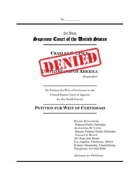 Supreme Court Certiorari